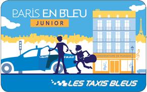 les taxis bleus la carte junior transport particulier. Black Bedroom Furniture Sets. Home Design Ideas