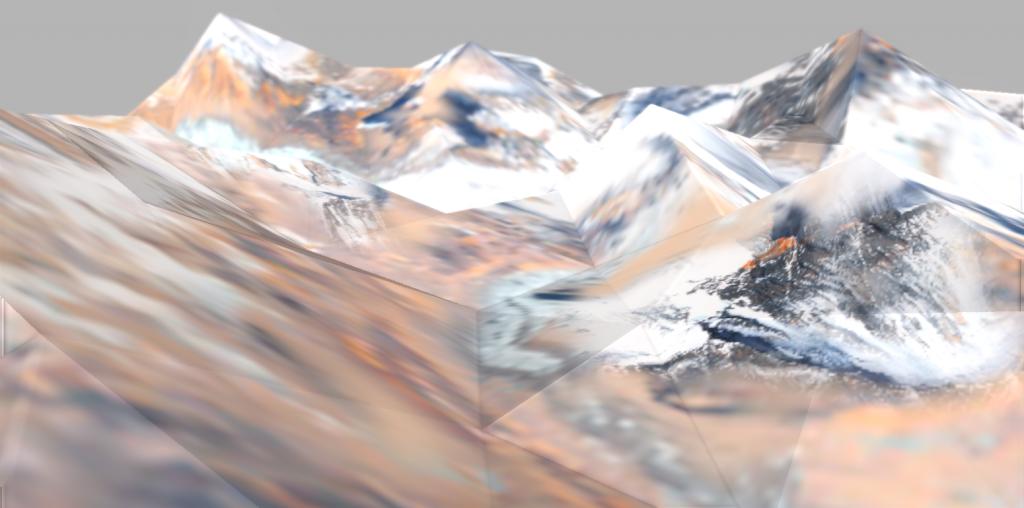montagne vue subjective niveau0